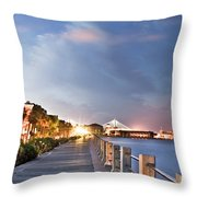 Charleston Battery Photography Throw Pillow by Dustin K Ryan