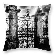 Chateau De Carrouges Throw Pillow by Simon Marsden