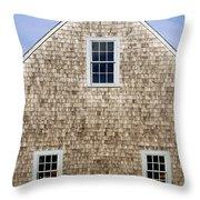 Chatham Boathouse Throw Pillow by John Greim