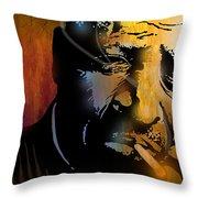 Chester Burnett Throw Pillow by Paul Sachtleben