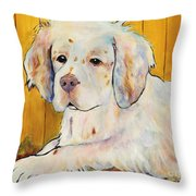 Chester Throw Pillow by Pat Saunders-White