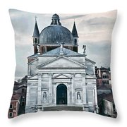 Chiesa Del Redentore Venice Throw Pillow by Tom Prendergast