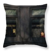 Children - Generations Throw Pillow by Mike Savad