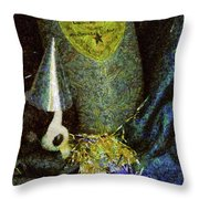 Children - Toys - Happy New Year Throw Pillow by Mike Savad