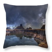 Chilean Copper Querry Throw Pillow by Heinz G Mielke