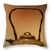 Chinese Teapot - A symbol in itself Throw Pillow by Christine Till
