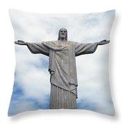 Christ the Redeemer Throw Pillow by Paul Landowski