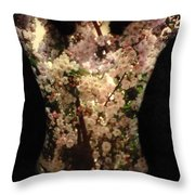 Christina Throw Pillow by Arla Patch