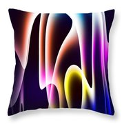 Chromasine Throw Pillow by Anthony Caruso