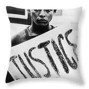 Civil Rights, 1961 Throw Pillow by Granger