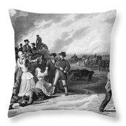 Civil War: Martial Law Throw Pillow by Granger