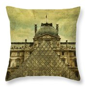Classic Contradiction Throw Pillow by Andrew Paranavitana