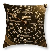 Classic Z Throw Pillow by Rick  Monyahan