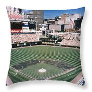 Cleveland: Jacobs Field Throw Pillow by Granger