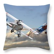 Close Quarters Throw Pillow by Pat Speirs