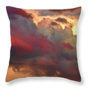 Cloudscape Sunset 46 Throw Pillow by James BO  Insogna