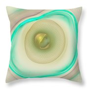 Coiled Weave Throw Pillow by Deborah Benoit