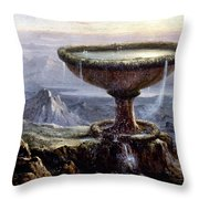Cole: Titans Goblet, 1833 Throw Pillow by Granger