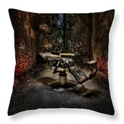 Comfortably Numb Throw Pillow by Evelina Kremsdorf