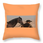 Companions Throw Pillow by Corey Ford