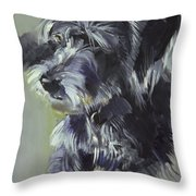 Connie Throw Pillow by Sally Muir