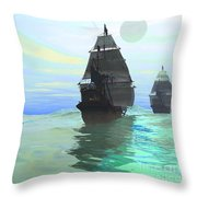 Consort Throw Pillow by Corey Ford