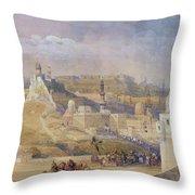 Constantinople Throw Pillow by David Roberts