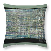 Convoluted Throw Pillow by Jacqueline Athmann