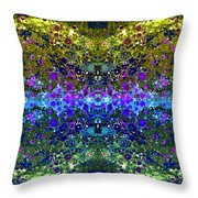 Cosmos Crown Jewels 2 Throw Pillow by Angelina Vick