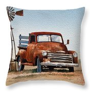 Country Memories Throw Pillow by James Williamson