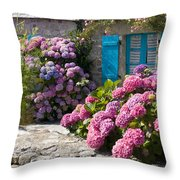 Country Style Throw Pillow by Sophie De Roumanie