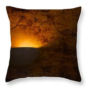 Cracked Wall Throw Pillow by Svetlana Sewell