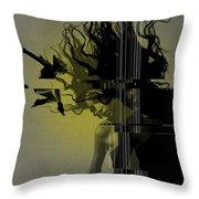 Crash Throw Pillow by Naxart Studio