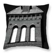 Cross Tower Throw Pillow by Karol  Livote