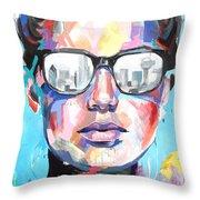 Dallas Throw Pillow by Julia Pappas
