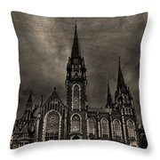 Dark Kingdom Throw Pillow by Evelina Kremsdorf