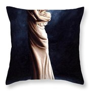Deep Consideration Throw Pillow by Richard Young