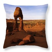 Delicate Sunrise Throw Pillow by Chad Dutson