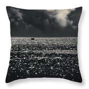 Delusion Throw Pillow by Taylan Soyturk