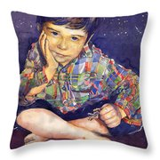 Denis 01 Throw Pillow by Yuriy  Shevchuk