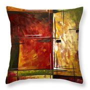 Depth Of Emotion By Madart Throw Pillow by Megan Duncanson