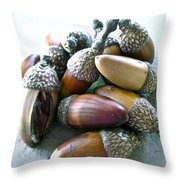 Descendants Throw Pillow by Gwyn Newcombe