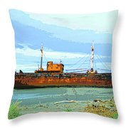 Desdemona 3 Throw Pillow by Dominic Piperata