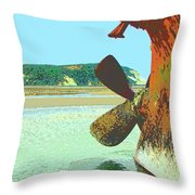 Desdemona 4 Throw Pillow by Dominic Piperata