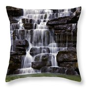 Devil Throw Pillow by Lana Trussell