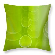 Dewdrops Throw Pillow by Silke Magino