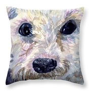 Did You Say Lunch Throw Pillow by Sharon E Allen