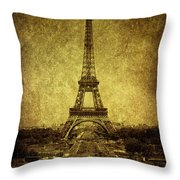 Dignified Stature Throw Pillow by Andrew Paranavitana