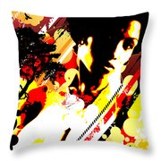 Dim Sunrise Throw Pillow by Chris Andruskiewicz