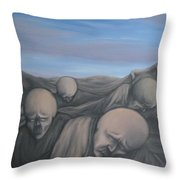 dismay Throw Pillow by Michael  TMAD Finney